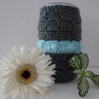 Quick cute crochet vase
